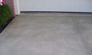 basic concrete driveway canberra