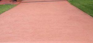 coloured concrete driveway canberra