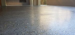 polished concrete driveway canberra