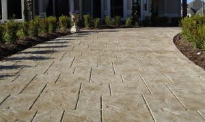 stamped concrete driveway canberra